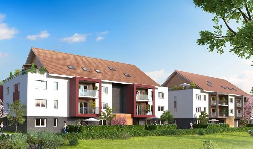 Annonce vente appartement douvaine 74140 107 m 390 for Annonces immobilier neuf